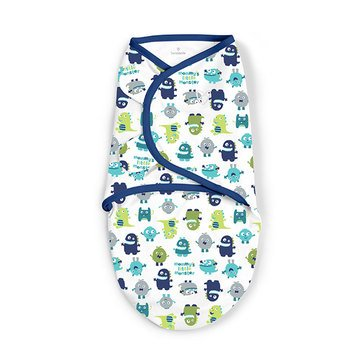 Summer Infant SwaddleMe - Small, Blue Monster