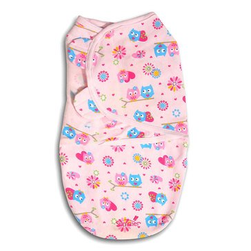 Summer Infant SwaddleMe - Small, Hearts Hoot