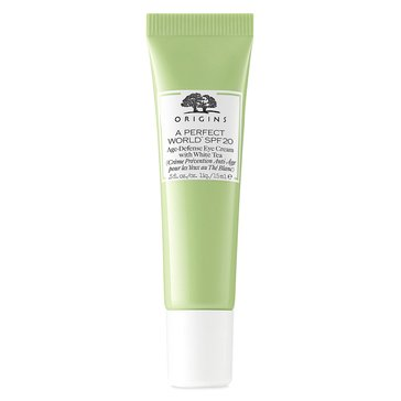 Origins A Perfect World Age-Defense Eye Cream with SPF 20