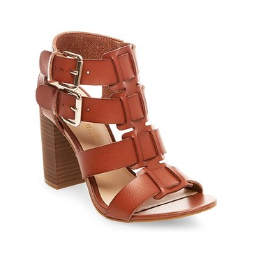 Madden Girl Hero Women's Buckle Sandal Cognac