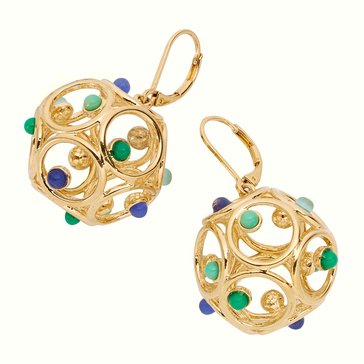 Kate Spade Gold Tone 'Brilliant Bauble' Multi Earrings