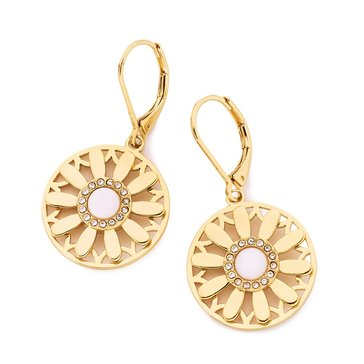 Kate Spade Gold Tone 'Golden Garden' Drop Earrings