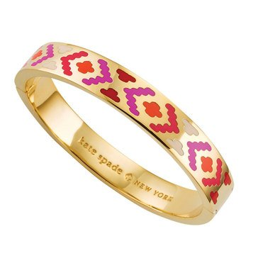 Kate Spade Gold Tone Spice Things Up Idiom Bangle