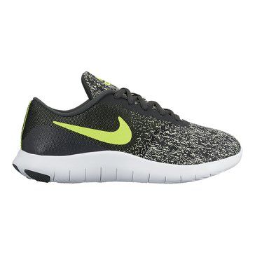 Nike Flex Contact Boys' Running Shoe Antracite/Volt