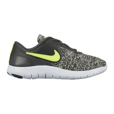 Nike Flex Contact Boys' Running Shoe Anthracite/Volt