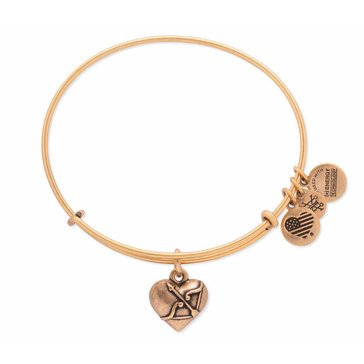 Alex and Ani Cupids Heart II Bangle