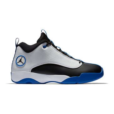 Jordan Jumpman Pro Quick Men's Basketball Shoe White/ Black/ Varsity Royal