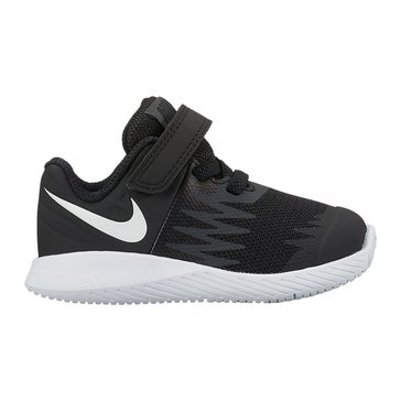 Nike Star Runner Boys' Running Shoe Black/White