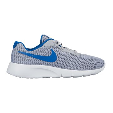 Nike Tanjun Boys' Training Shoe WolfGrey/Blue Jay