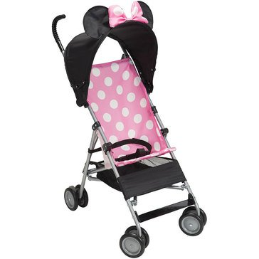 Disney Umbrella Stroller With Canopy, Pink Minnie 3D