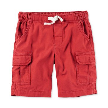 Carters' Little Boys' Solid Shorts, Red