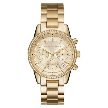 Michael Kors Women's Ritz Gold Watch 37mm
