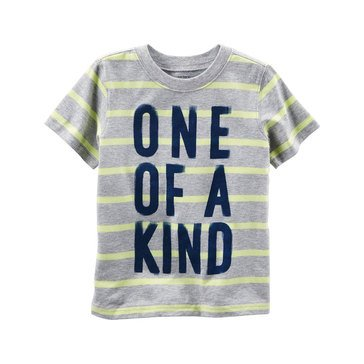 Carter's Toddler Boys' One Of A Kind Tee, Stripe