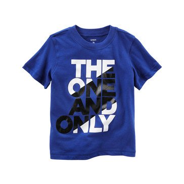 Carter's Toddler Boys' The One And Only Tee, Blue