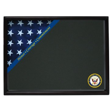 Corner Flag Case Honor Courage Commitment Fits 3x5, Black