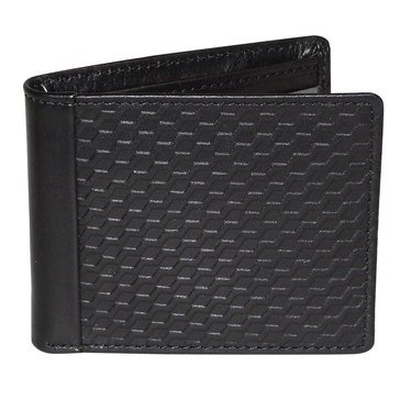 Buxton Bellamy RFID Wallet - Front Pocket Slimfold - Black