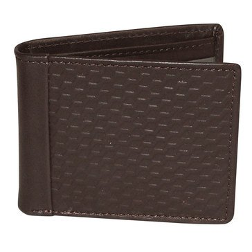 Buxton Bellamy RFID Wallet - Front Pocket Slimfold - Brown