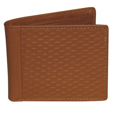 Buxton Bellamy RFID Wallet - Front Pocket Slimfold - Tan