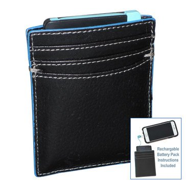 Buxton Walton Battery Pack Wallet - Black