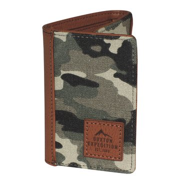 Buxton Expedition Huntington Gear Trifold Wallet - Camo