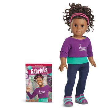 Girl of the Year 2017 Gabriela McBride Doll & Book