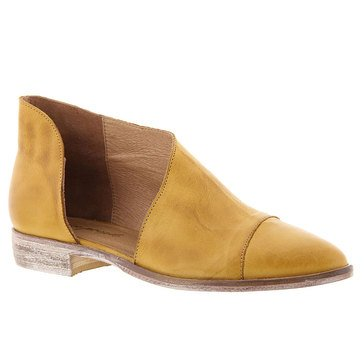 Free People Royale Women's Flat Slip On Shoe Canary