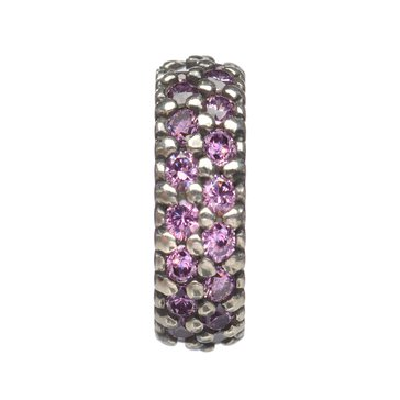 Nomades Pink Pave Spacer