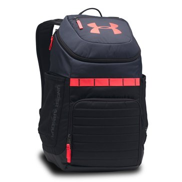 Under Armour Undeniable 3 Backpack - Black/Steel/Red