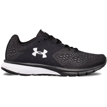 Under Armour Charged Rebel Women's Running Shoe Black/ Rhino Gray/ White