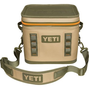 YETI Hopper Flip 12 - Field Tan / Blaze Orange