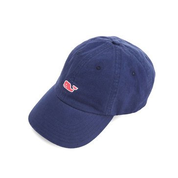 Vineyard Vines Classic Washed Baseball Hat in Rhododendron Whale Logo