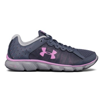 Under Armour Micro G Assert 6 Women's Running Shoe Apollo Gray/ Overcast Gray/ Icelandic Rose