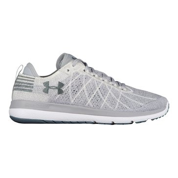 Under Armour Threadborne Fortis Men's Running Shoe Overcast Gray/ White/ Gravel