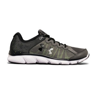 Under Armour Micro G Assert 6 Men's Running Shoe Graphite/ Quicky Lime/ Anthracite