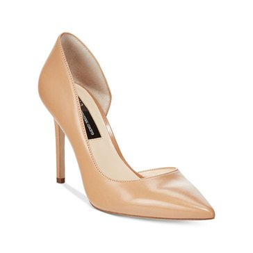 INC International Concepts Kenjay Women's High Heel Pump Sable