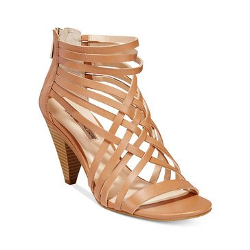 INC International Concepts Garoldd Women's Dress Sandal Honey