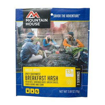 Mountain House Spicy Southwest Breakfast Hash