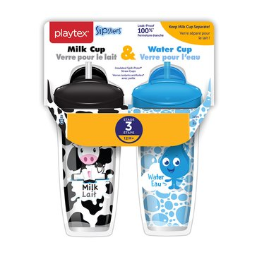 Playtex Stage 3 Milk & Water Cup, 9oz, 2-Pack