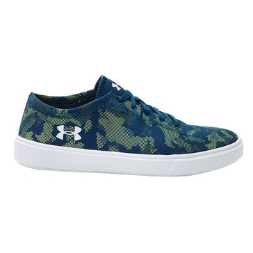 Under Armour Kickit2 Low Boys' Running Shoe True Ink/ White/ White