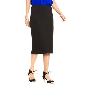 Vince Camuto Women's Crepe Ponte Pencil Skirt