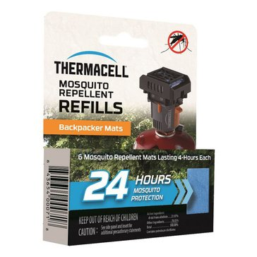 Thermacell Backpacker Mat-Only Refill - 24 Hours