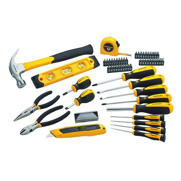 Stanley 62-Piece Mixed Hand Tool Set with Bag (STHT75985)
