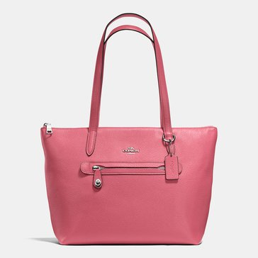 Coach Pebble Taylor Tote Peony