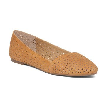 Lucky Brand Archh2 Women's Perforated Flat Cafe