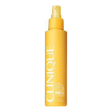 Clinique Sunscreen Body Spray Botttle SPF30 144ml