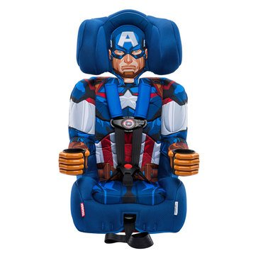 Kids Embrace Captain America Harness Booster Seat