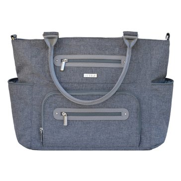 JJ Cole Caprice Diaper Bag - Gray Heather