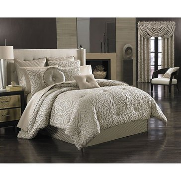 Astoria Sand Comforter Set - Queen