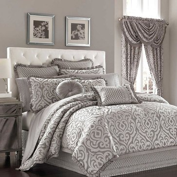 Luxembourg Silver Comforter Set