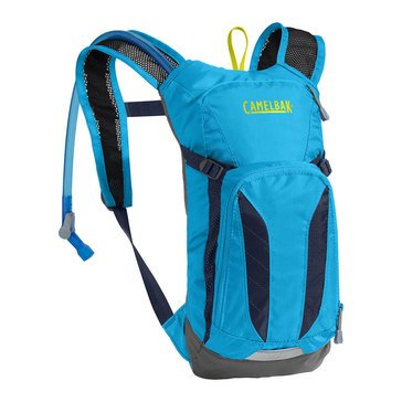 CamelBak Mini M.U.L.E. 50 Oz Hydration Pack - Atomic Blue/Navy Blazer